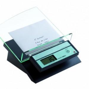 Alba-Pse-lettre-lectronique-Ice-2kg-Plateau-inclin-Adaptateur-adcoude-en-option-Noir-et-Transparent-0