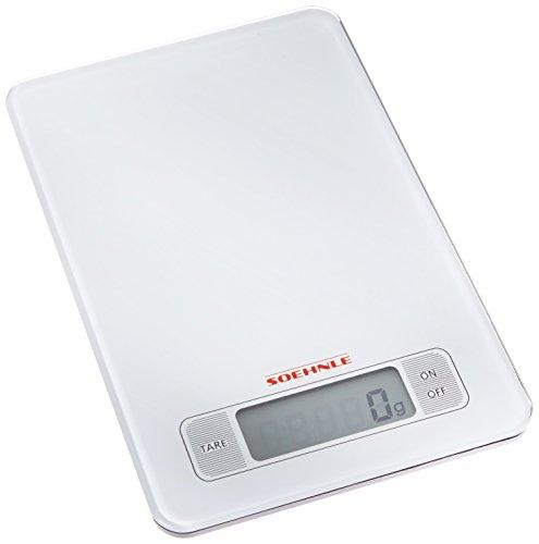 Soehnle-66100-Balance-Electronique-Page-Blanc-5-Kg-1-g-0
