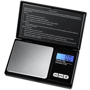 AMIR-Balance-de-Prcision-200g001g-Balance-de-Cuisine-Balance-de-Precision-001g-Balance-de-Poche-avec-cran-LCD-Petite-Balance-de-Bijoux-avec-Fonction-de-Tare-Acier-Inoxydable-Noir-0