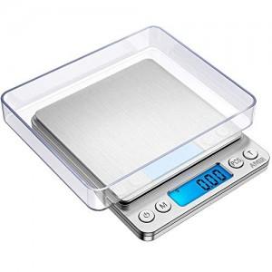 Balance-numrique-500-g001g-Balance-de-prcisionPse-lettreBalanceor-BalanceBalance-de-poche-Trs-Prs-professionnelle-de-Wake-Up-Easy-Pocket-Scale-500001g-0